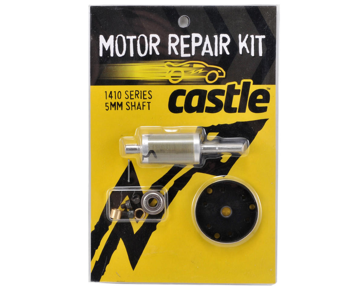 Castle Creations Motor Repair Kit (1410-3800kV w/5mm Shaft)