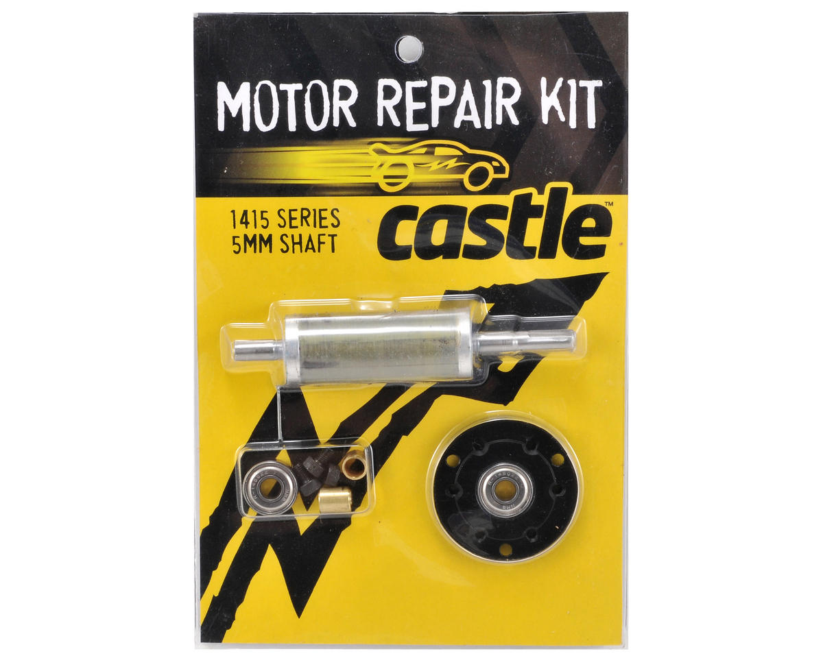 Castle Creations Motor Repair Kit (1415-2400kV w/5mm Shaft)