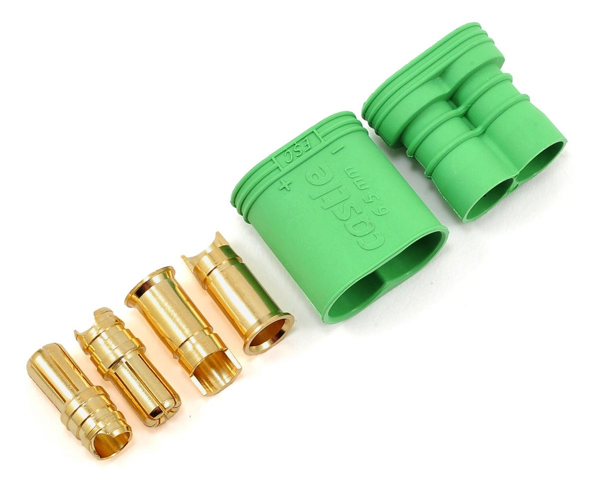 6.5mm Polarized Bullet Connector Set (Male/Female) by Castle Creations