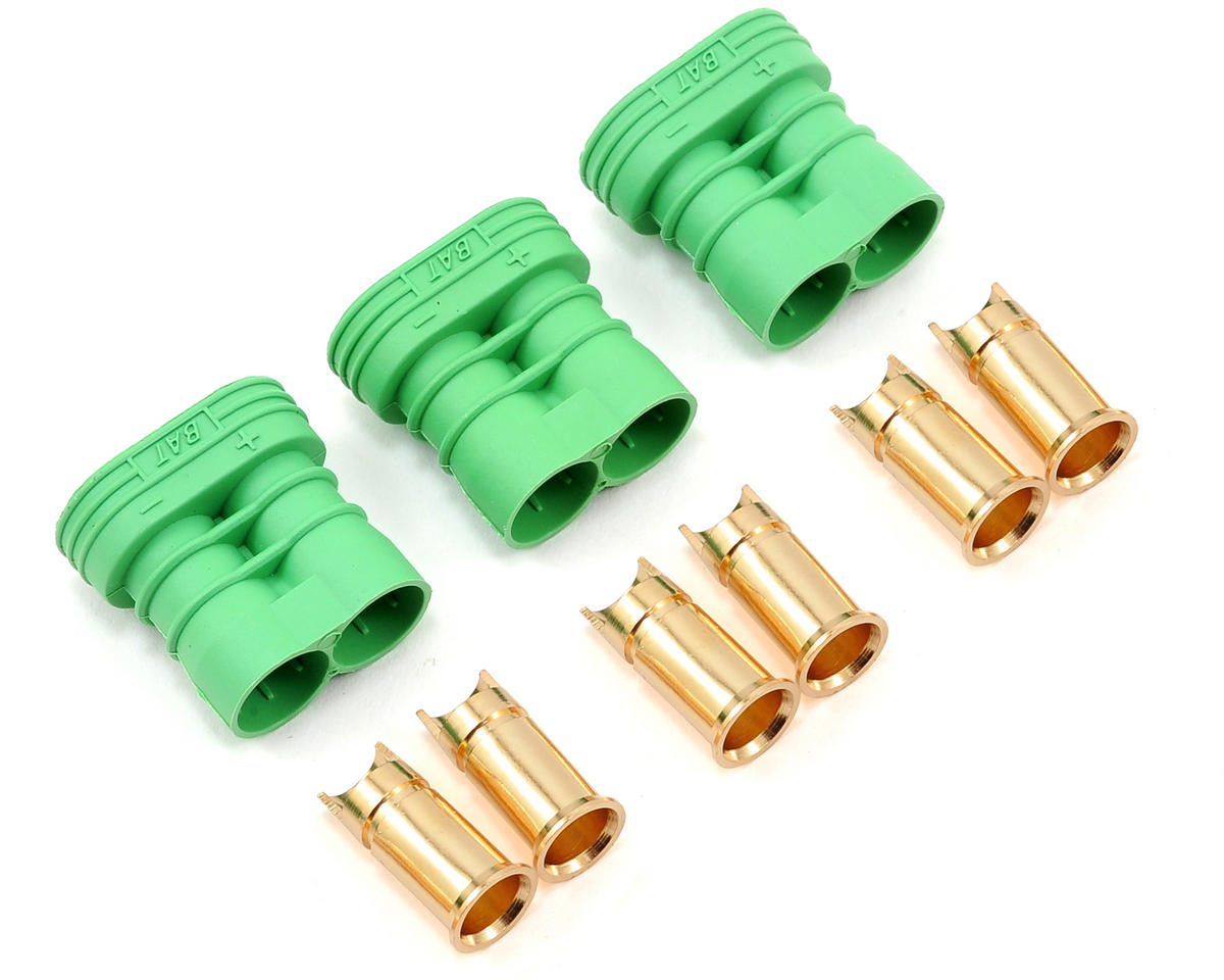 6.5mm Polarized Bullet Connector (3) (Female) by Castle Creations