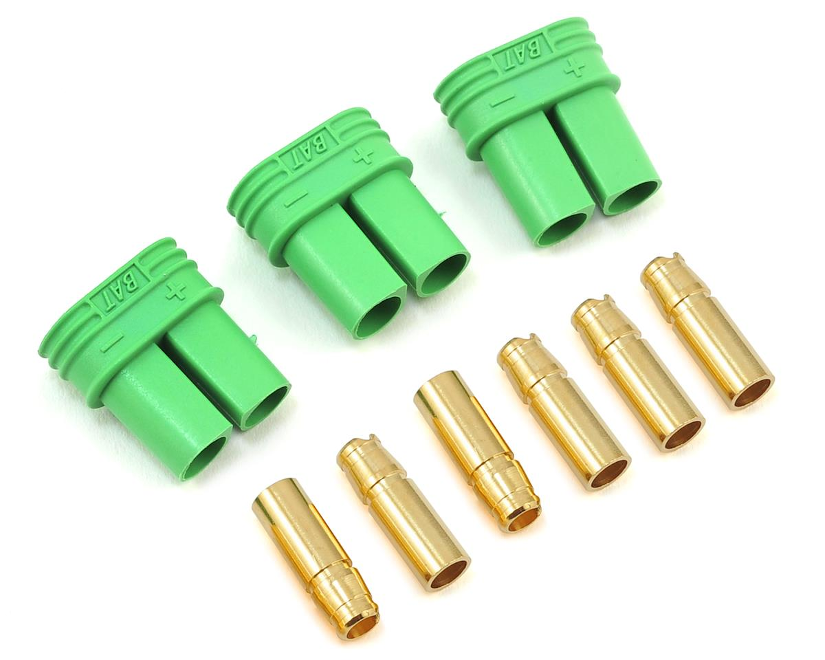 Castle Creations 4mm Polarized Bullet Connector Set (Female)