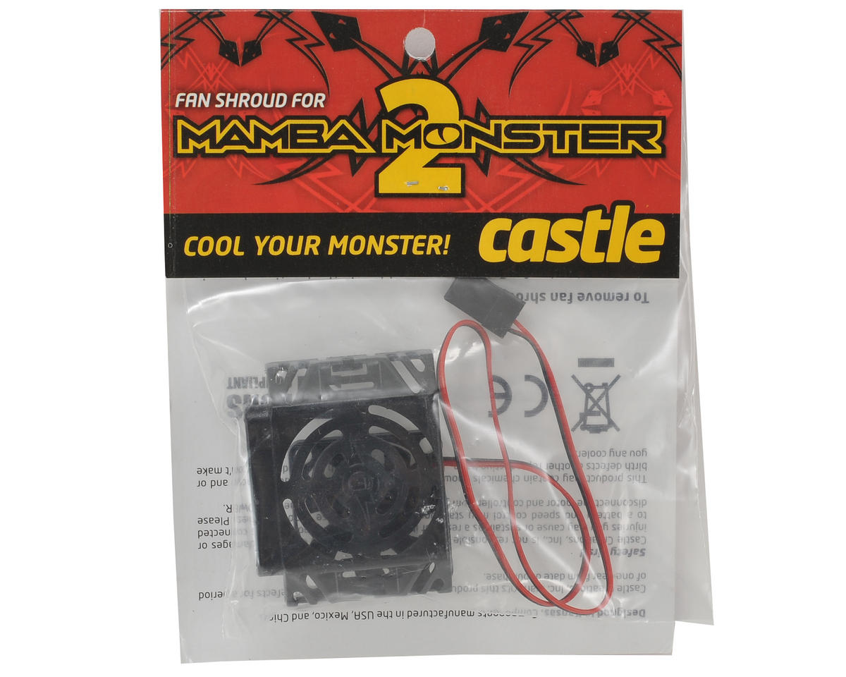 "Castle Creations Mamba Monster 2 Replacement ""CC Blower"" Fan"