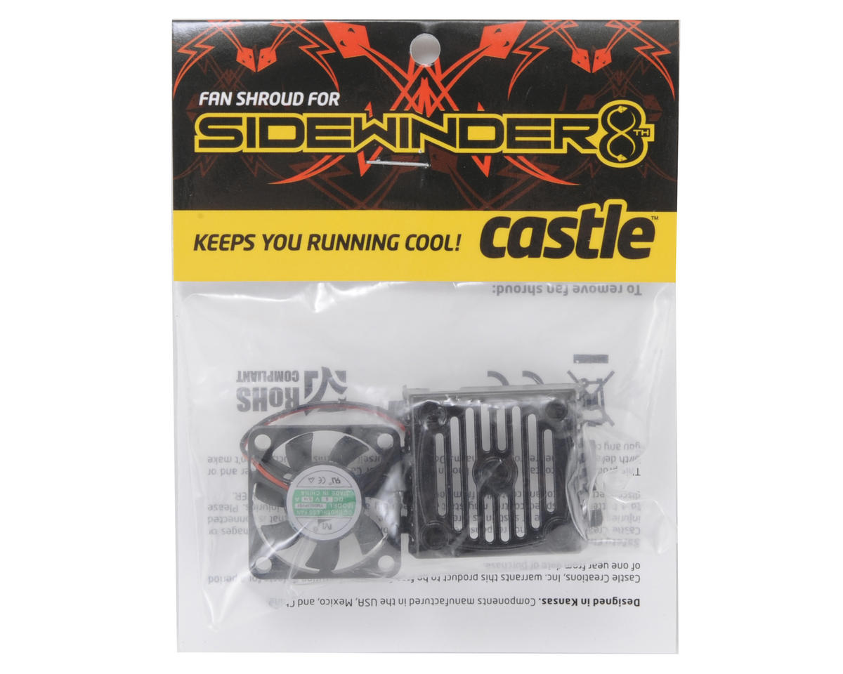 Castle Creations Sidewinder 1/8 Fan