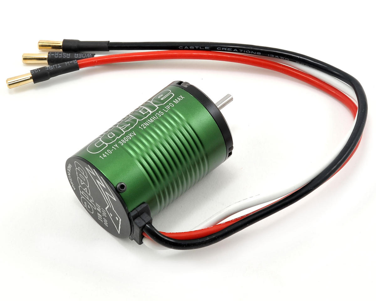 Castle Creations 1410-1Y 4-Pole Brushless Motor (3800kV)