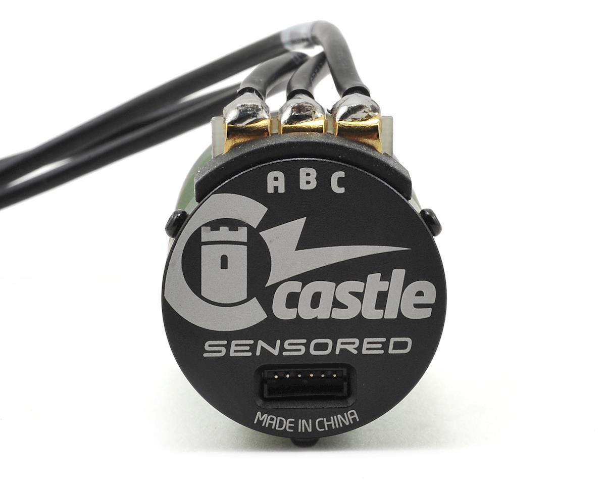 1512 1Y 4-Pole Sensored Brushless Motor (1800kV) by Castle Creations