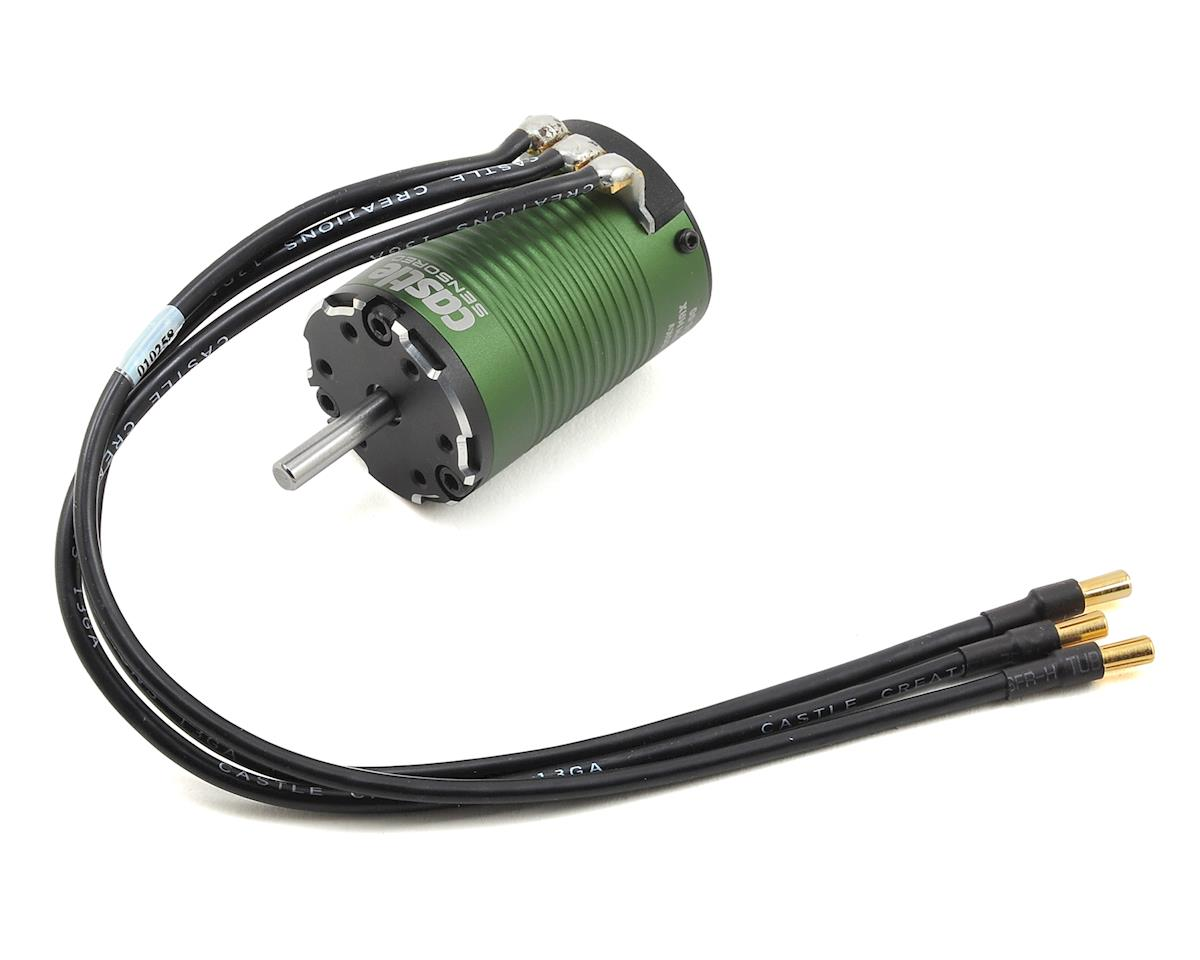1410 1Y 4-Pole Sensored Brushless Motor w/5mm Shaft (3800kV) by Castle Creations