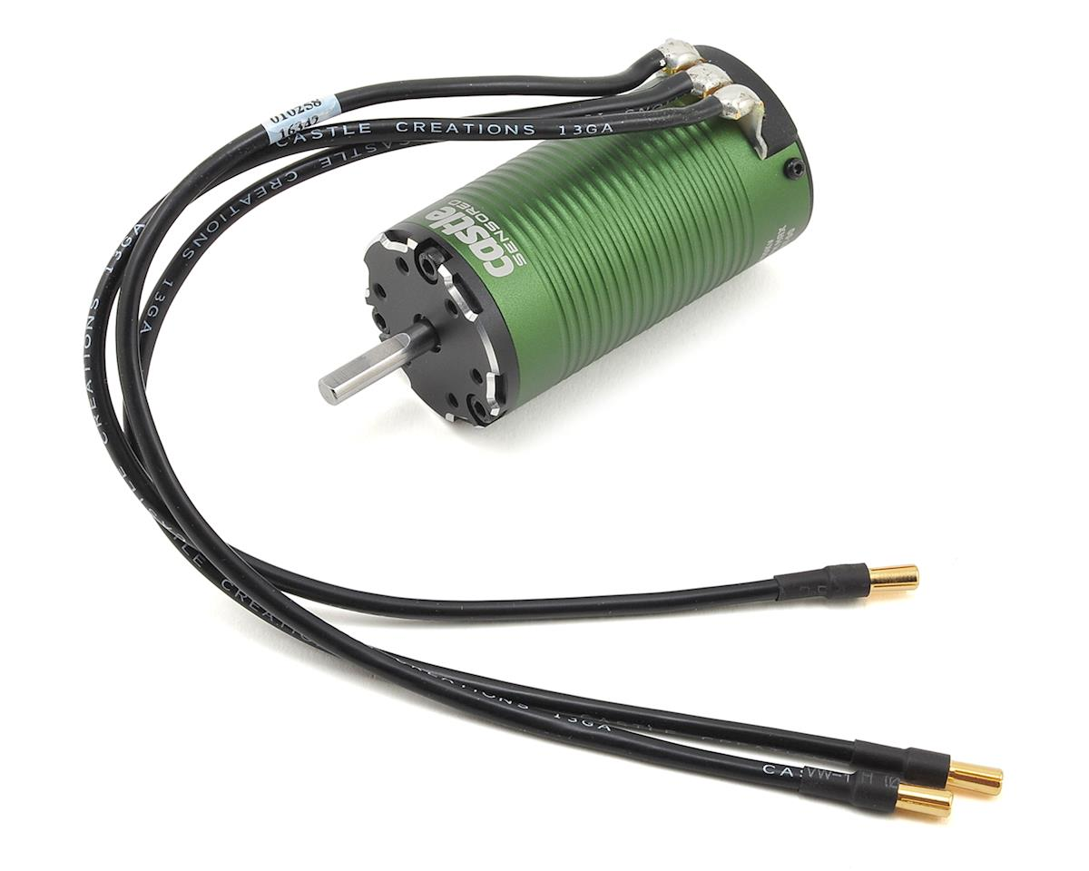 1415 1Y 4-Pole Sensored Brushless Motor w/5mm Shaft (2400kV) by Castle Creations