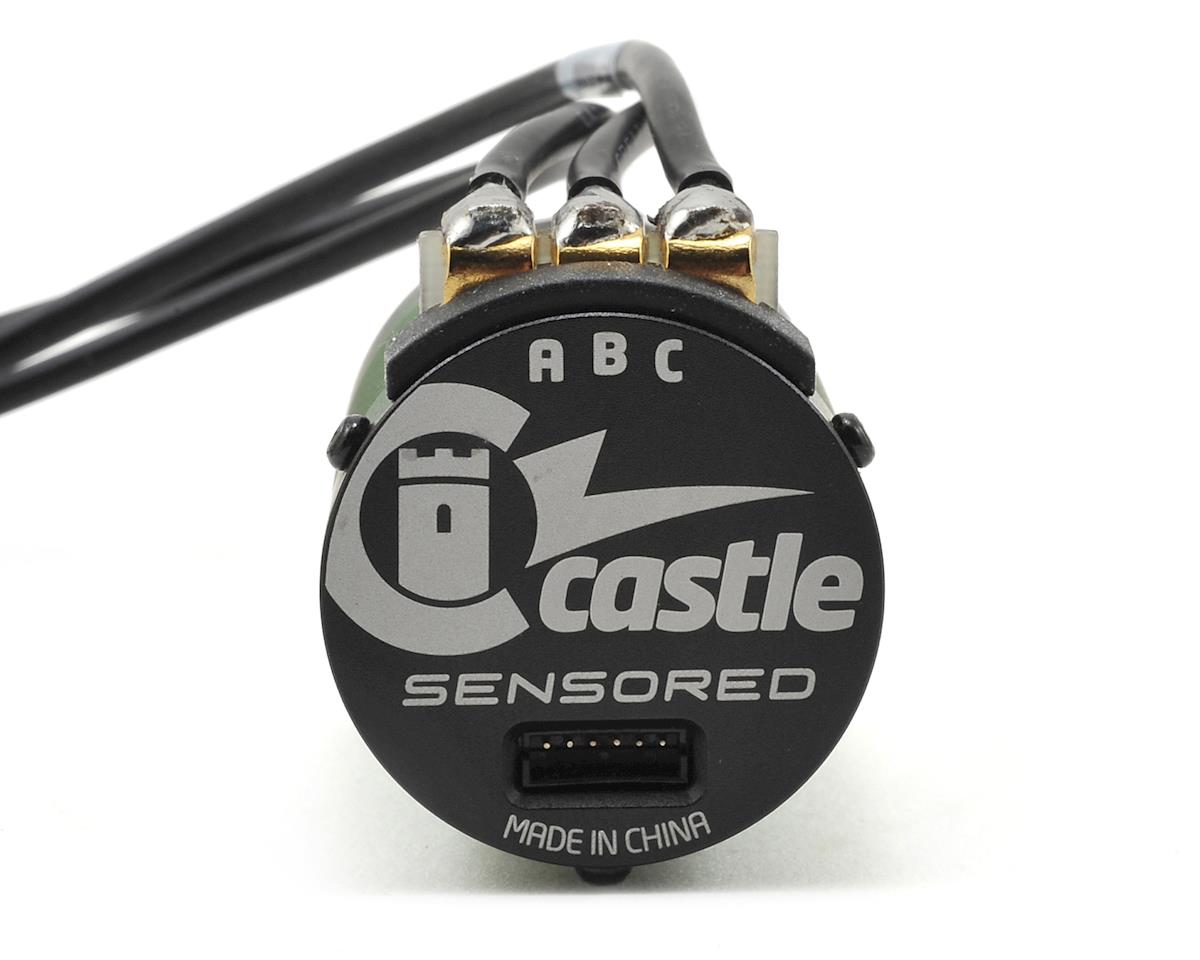 Castle Creations 1415 1Y 4-Pole Sensored Brushless Motor w/5mm Shaft (2400kV)