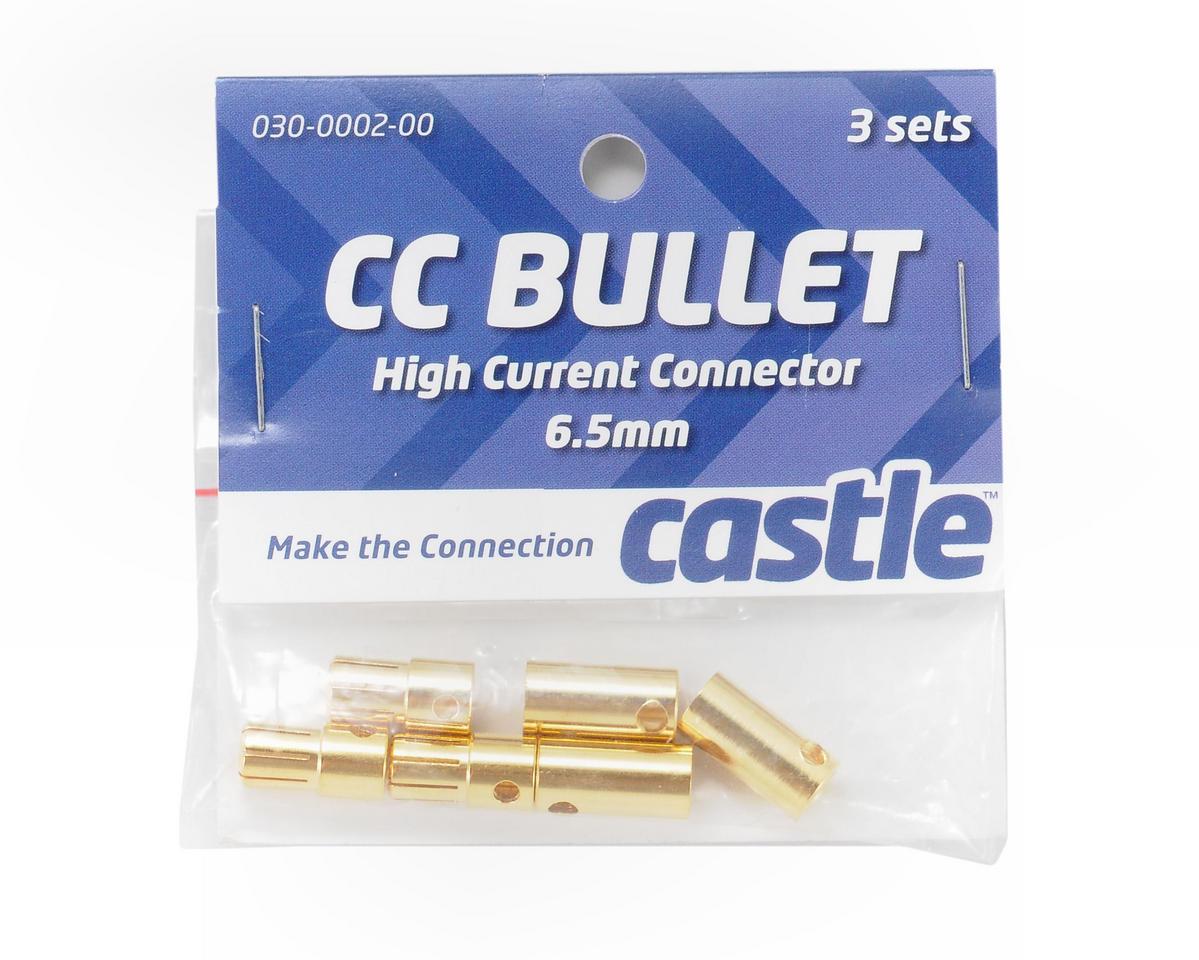50 x Blue 5mm Female Bullet Cimp Connector