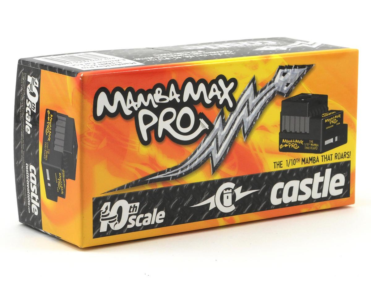Castle Creations Mamba Max Pro 1/10 Sensored/Sensorless ESC w/SmartSense