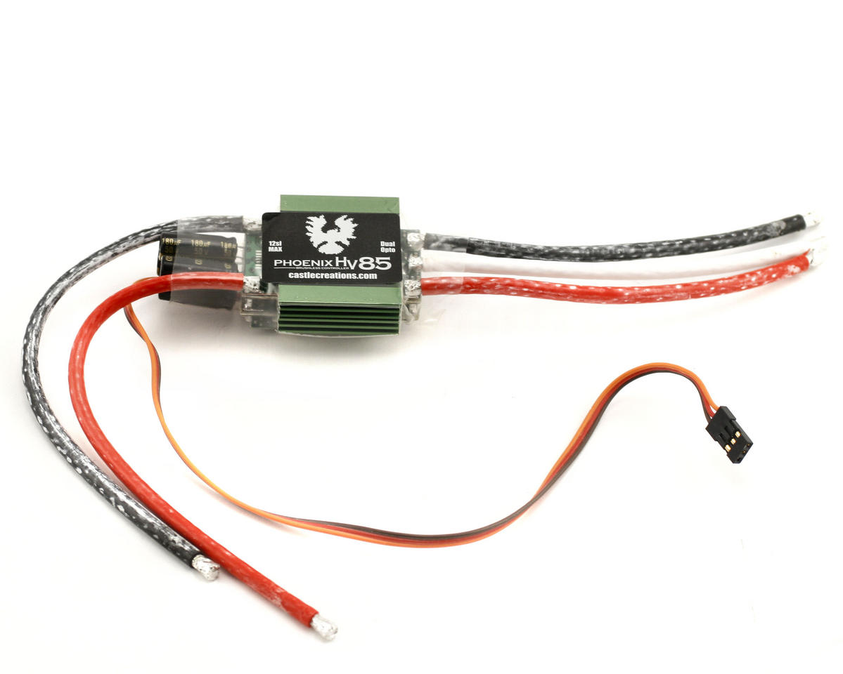 Castle Creations Phoenix HV-85 High Voltage Electronic Speed Control