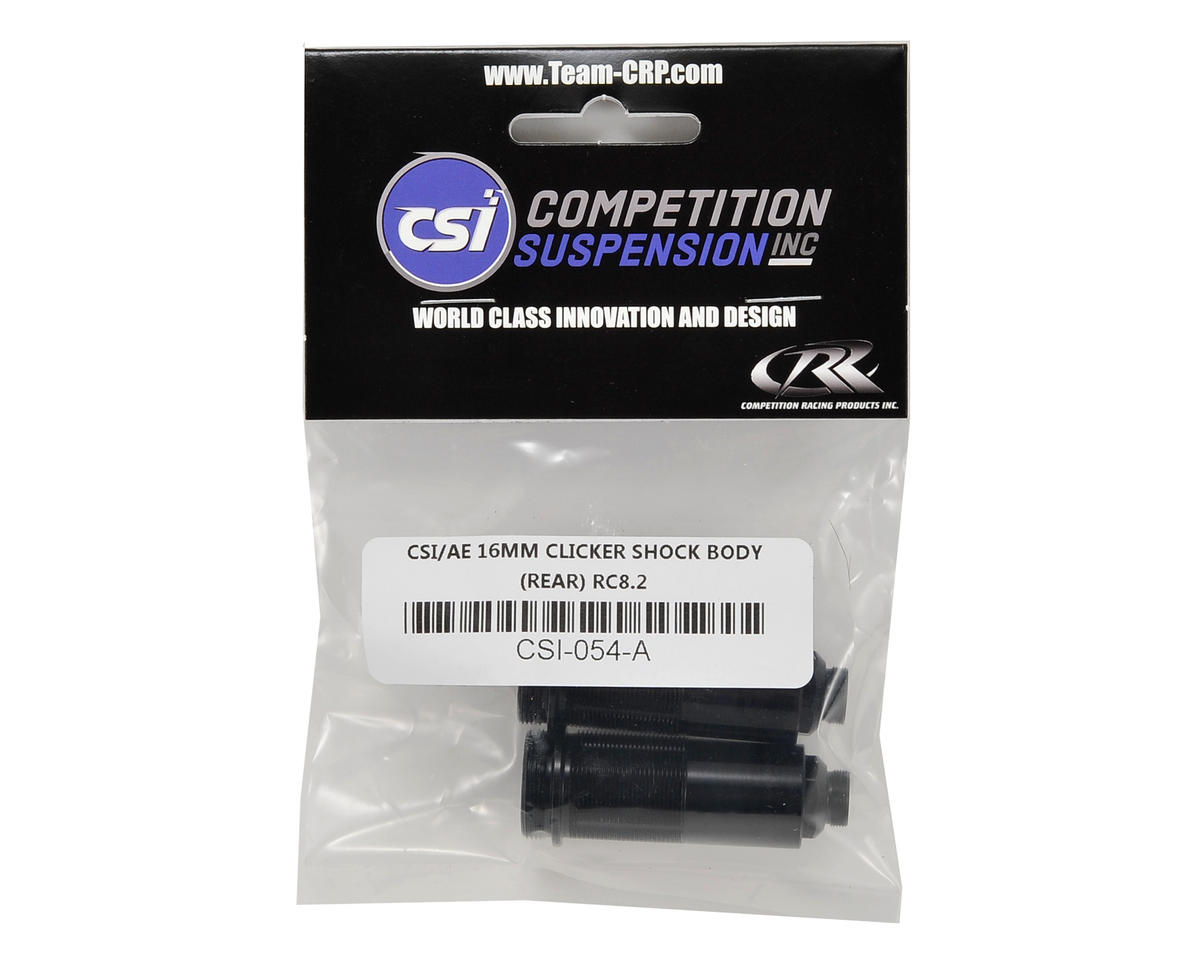 Competition Suspension Associated 16mm Pro Clicker Shock Body (Rear) (2)