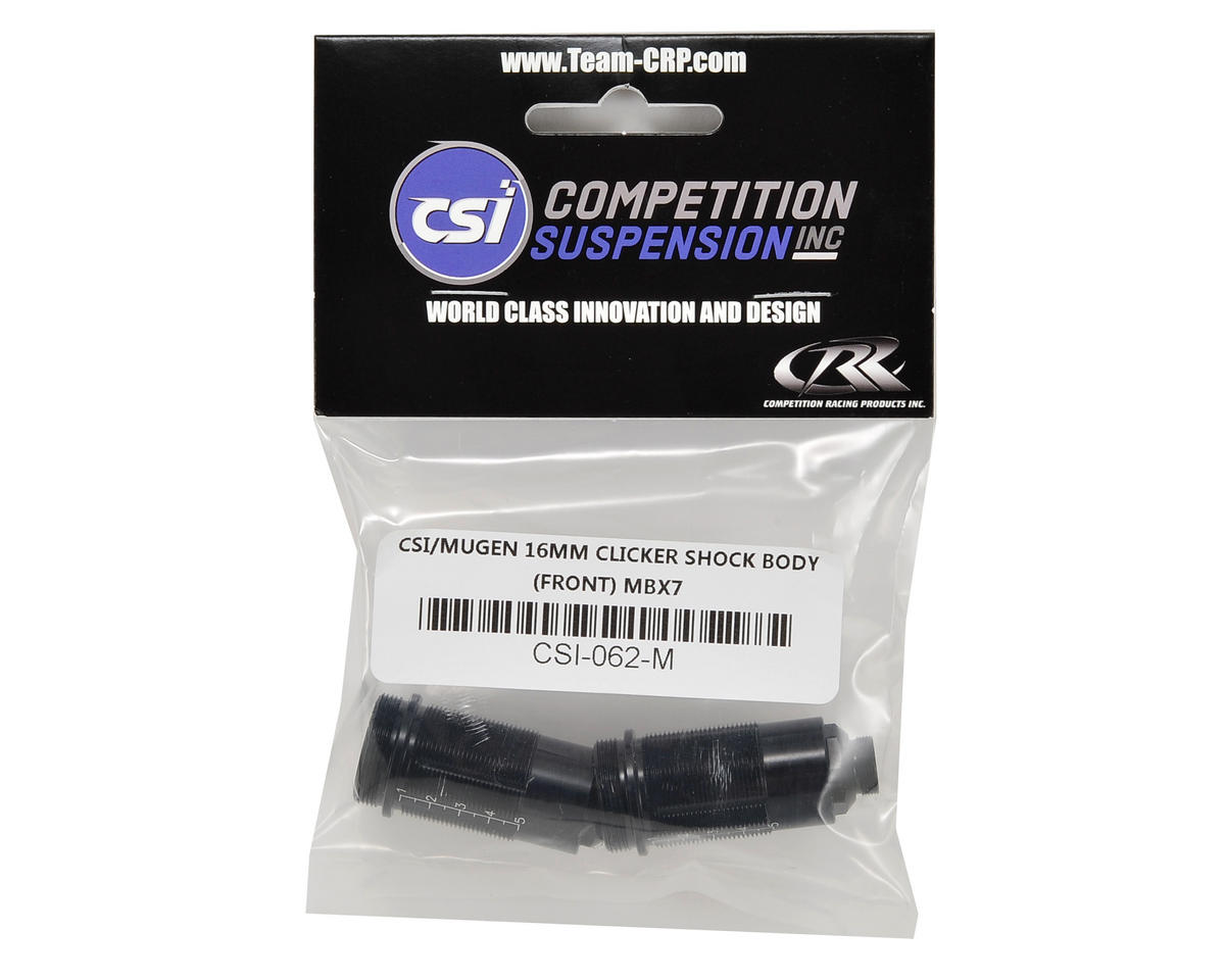 Competition Suspension Mugen 16mm Pro Clicker Shock Body (Front) (2)