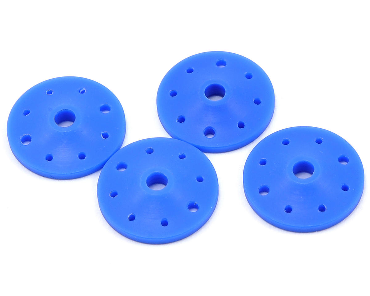 """Competition Suspension 8-Port Optimum Flow Tapered Piston Set """"B"""" (Blue) (4) (Agama)"""