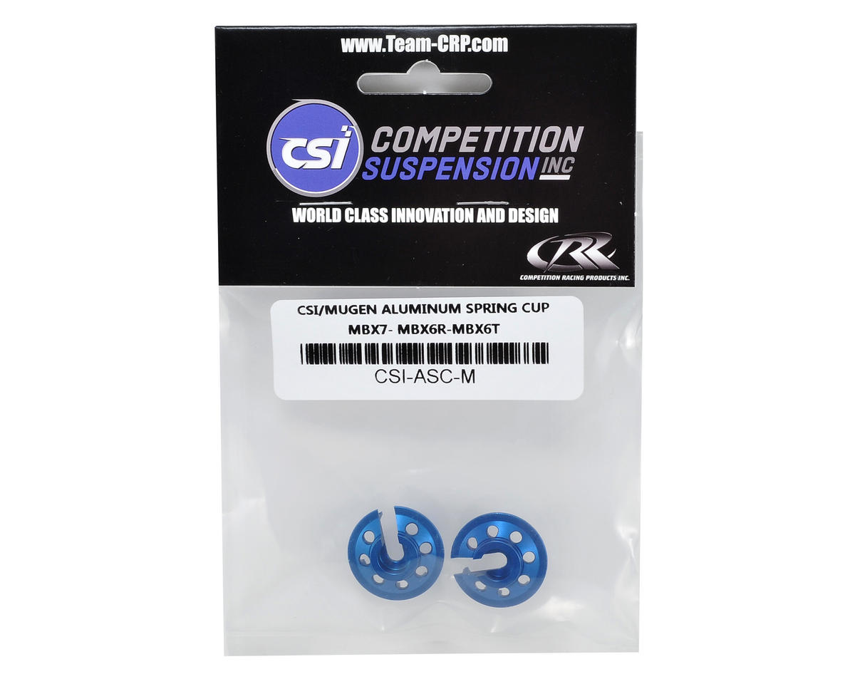 Competition Suspension Mugen Aluminum Shock Spring Cups (2)