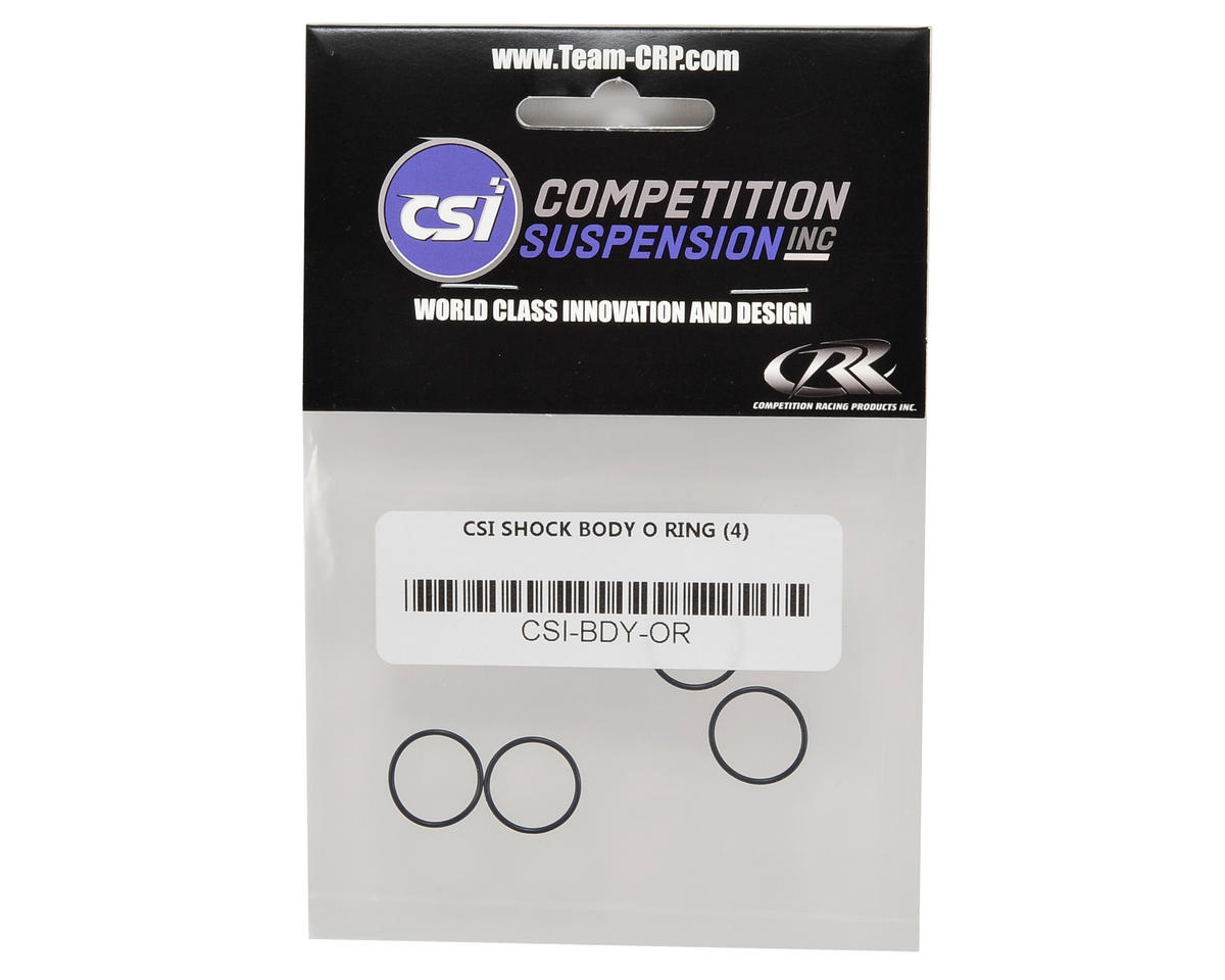 Competition Suspension Pro Clicker Shock Body O-Ring (4)