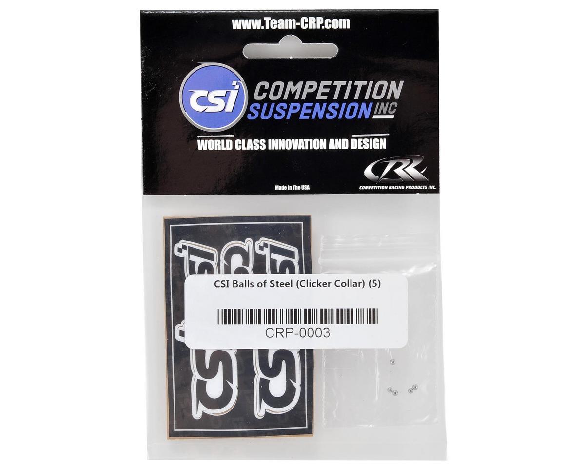 Competition Suspension Pro Clicker Collar Steel Ball (5)