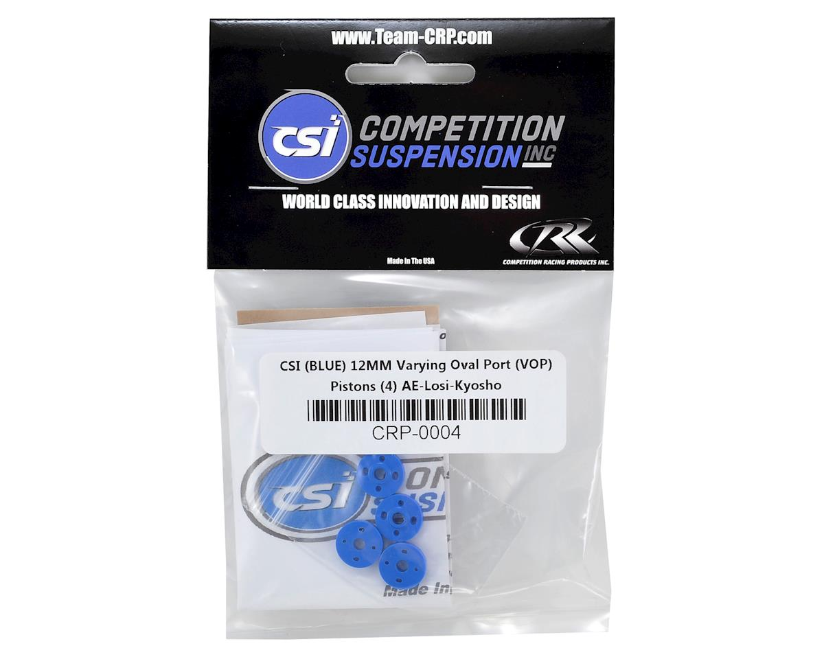 Competition Suspension 12mm VOP Piston Set (Blue) (4)