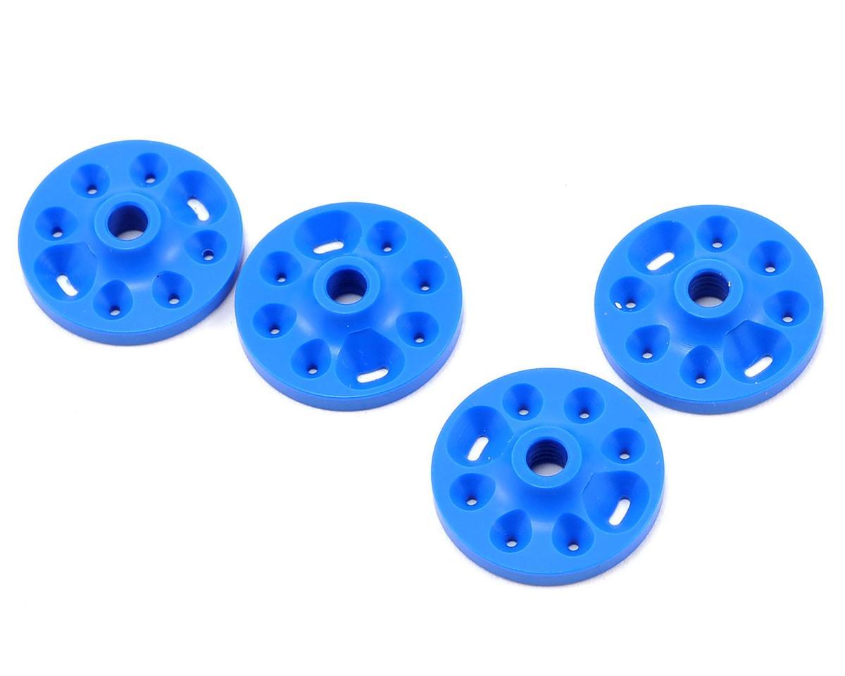 Competition Suspension Serpent Squared V-Port Piston Set (Blue) (4)
