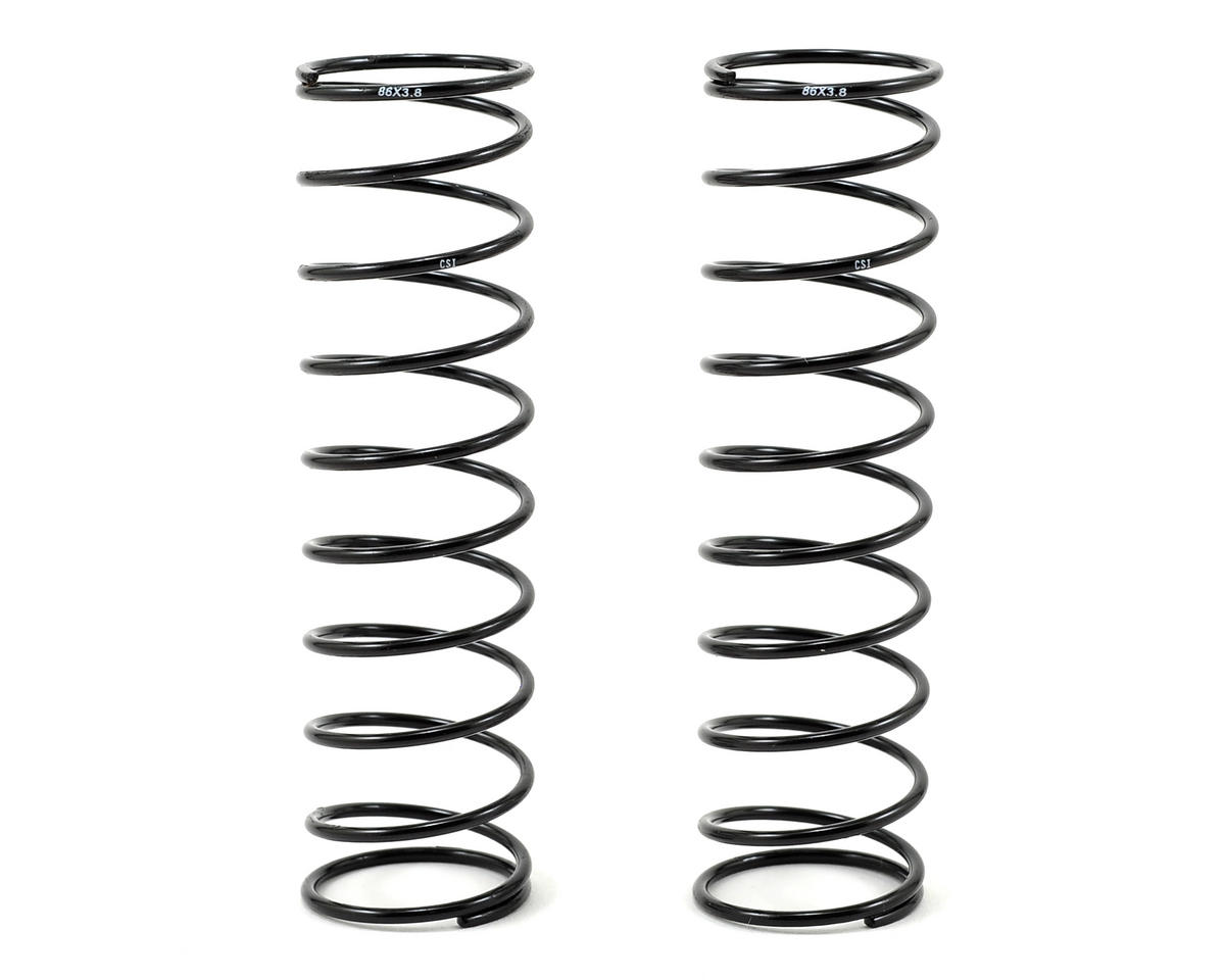 Mugen 86mm Rear Shock Spring (2) (1.6/10.75 - 3.8/X-Soft) by Competition Suspension