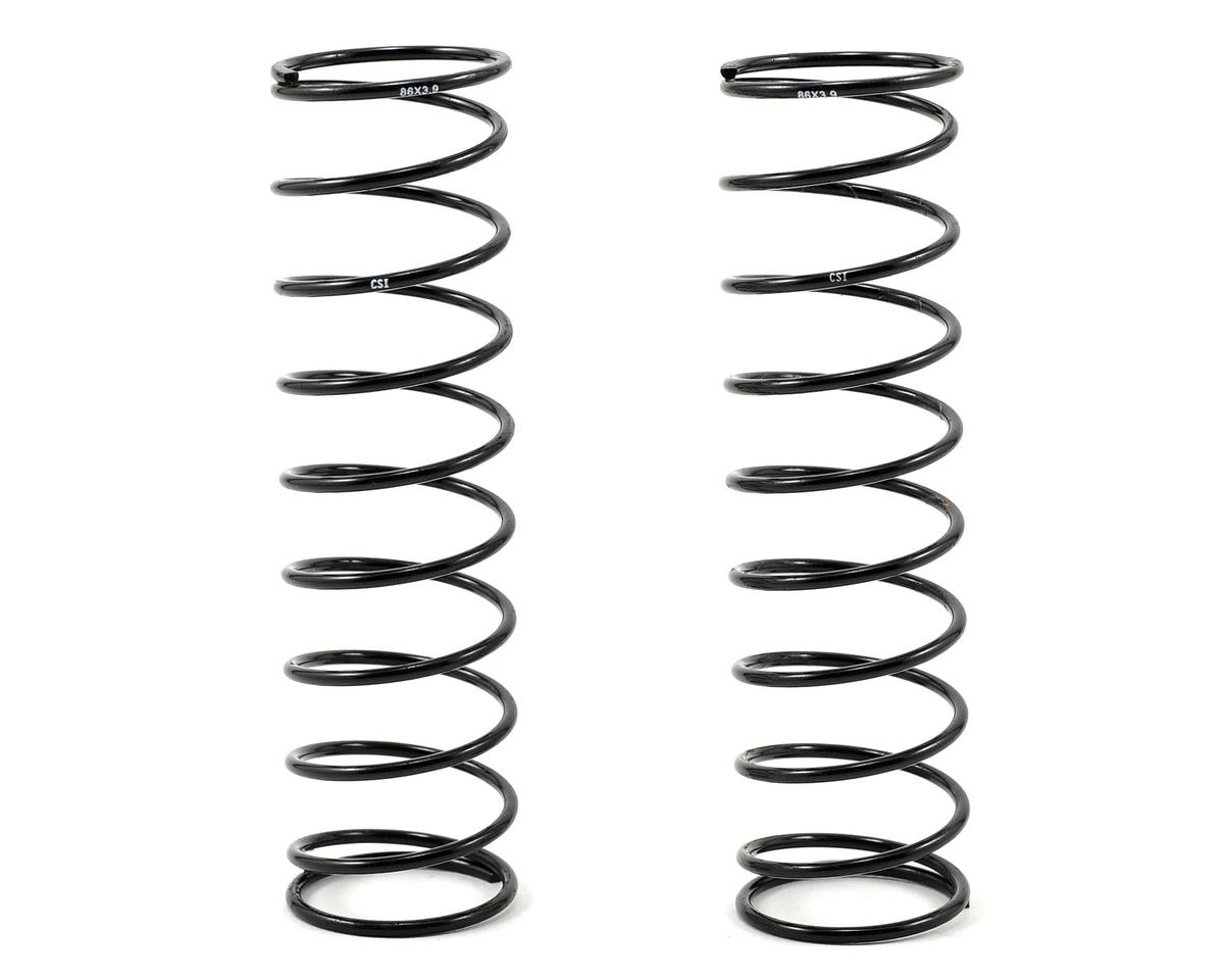 Mugen 86mm Rear Shock Spring (2) (1.6/10.50 - 3.9/Soft) by Competition Suspension