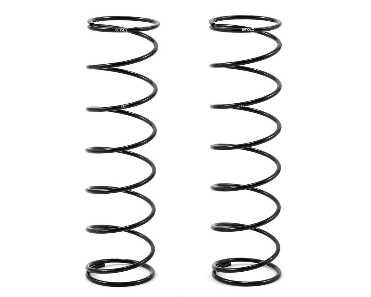 Competition Suspension Mugen 86mm Rear Shock Spring (2) (1.5/8.25 - 4.3/Hard)