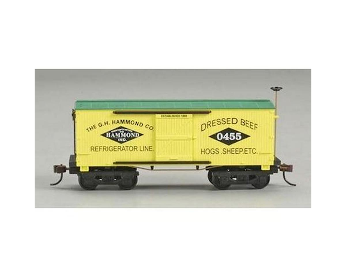 CSM HO RTR Old Time Wood Reefer, Hammond