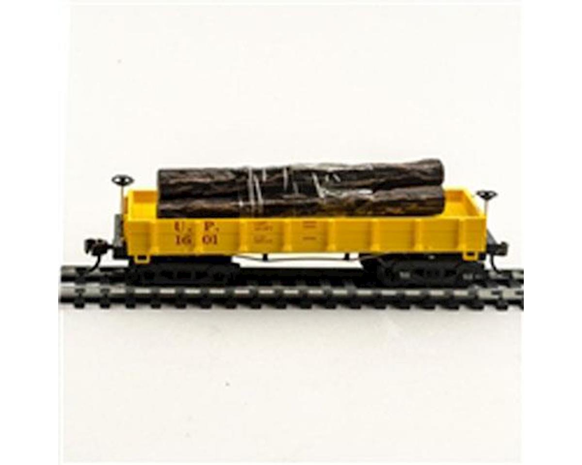 CSM HO Old Time Wood Log Car, UP
