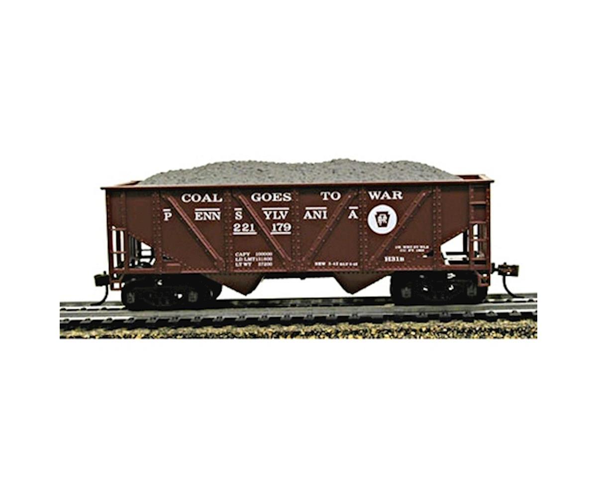 CSM HO 36' Hopper w/Coal Load, PRR