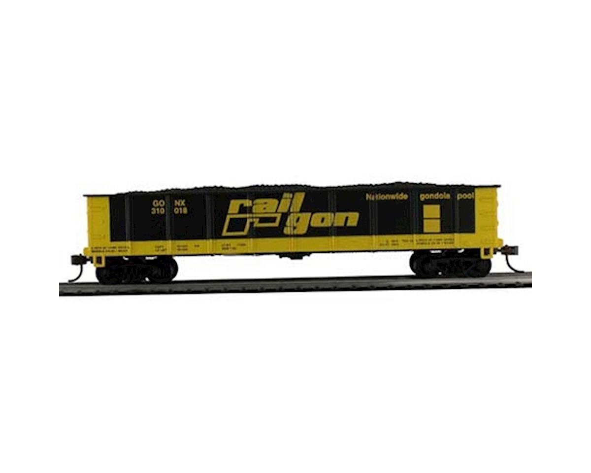 CSM 40' Gondola w/Coal Railgon HO