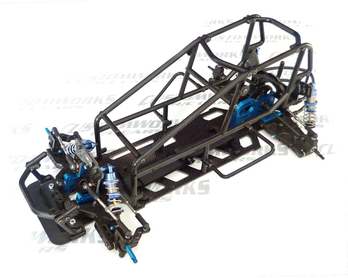 Custom Works Enforcer 7 Direct Drive 1 10th Electric Sprint Car Dirt Oval Kit