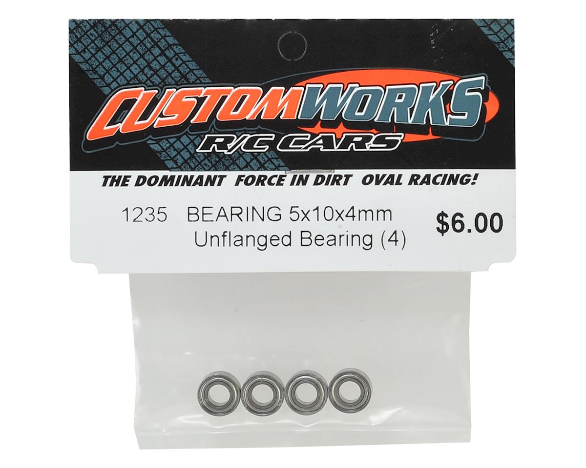 Custom Works 5x10x4mm Bearings (4)