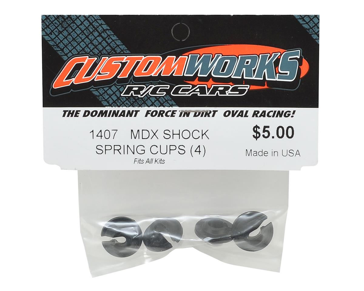 Custom Works Shock Spring Cups (4)