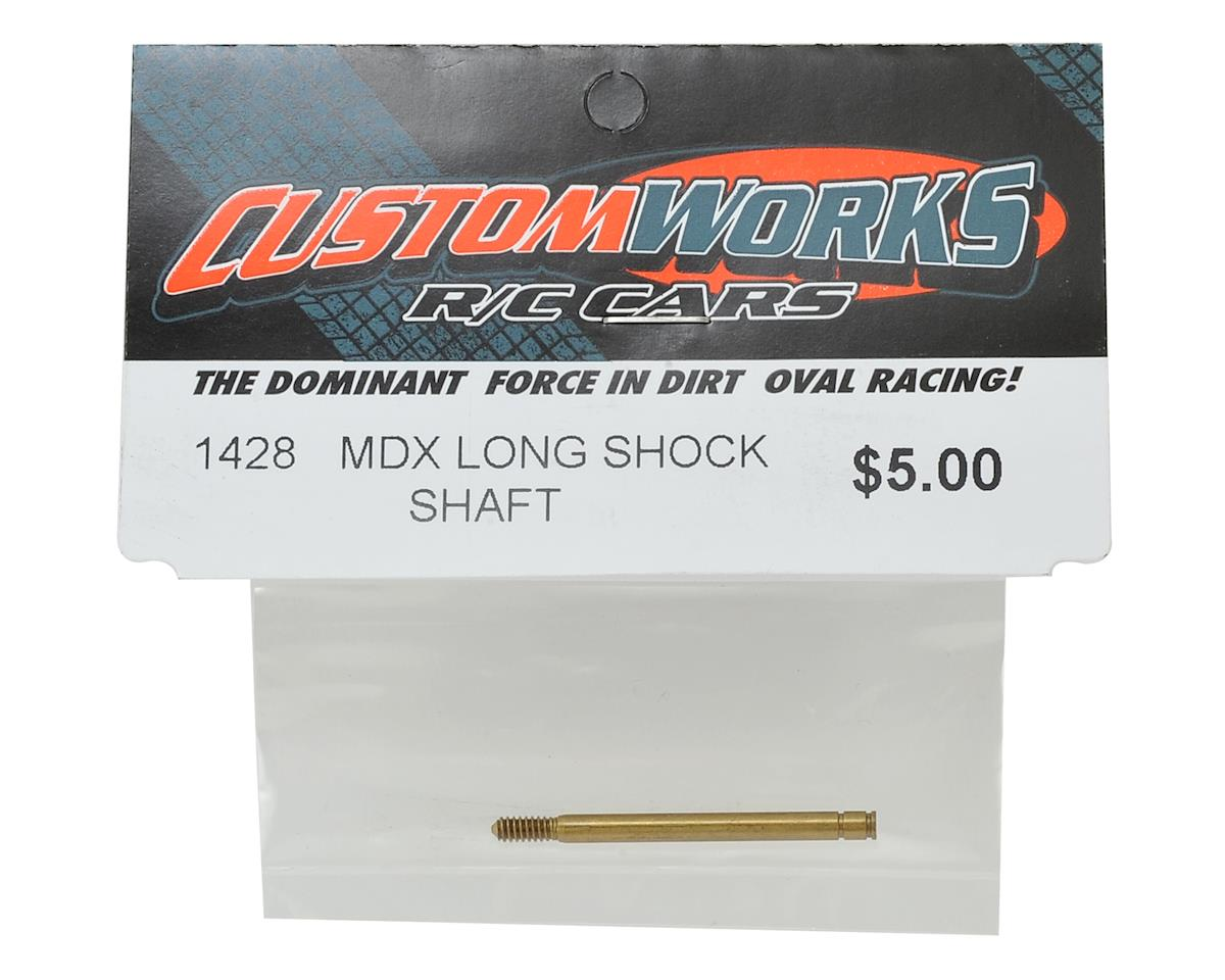 Custom Works MDX Long Shock Shaft
