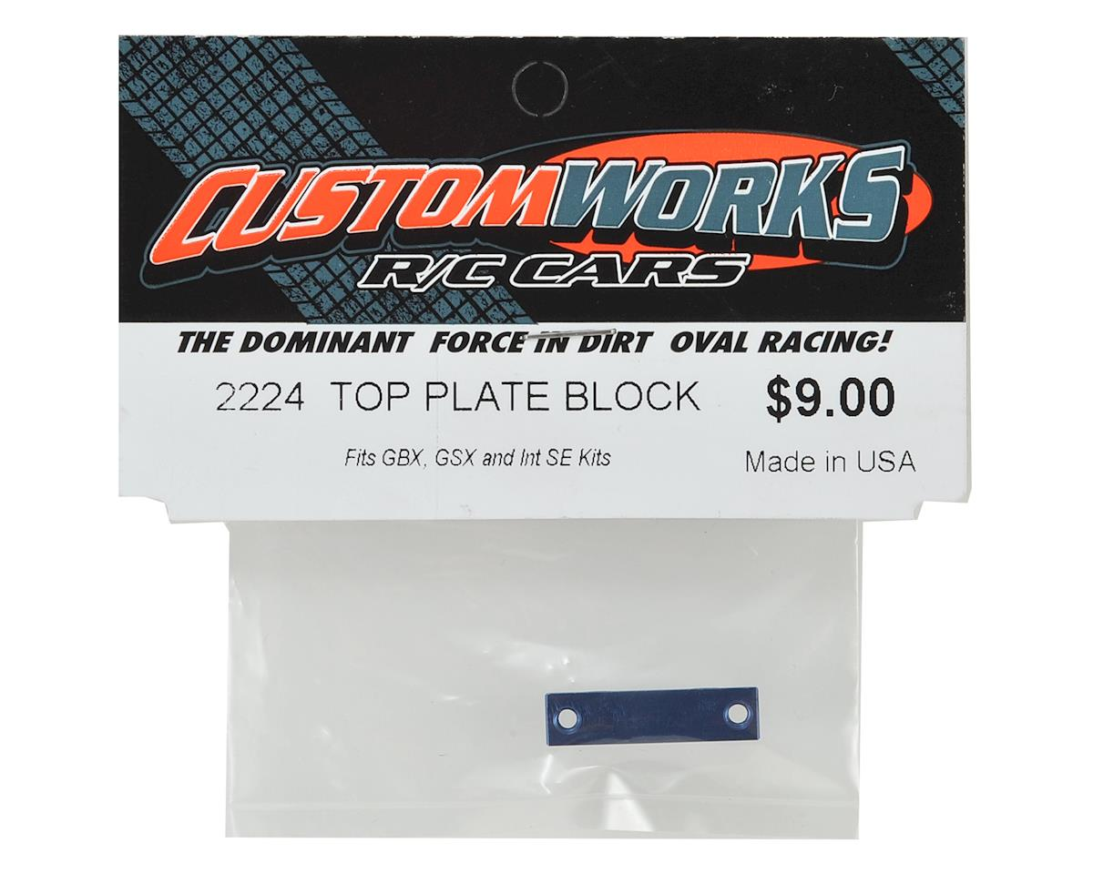 Custom Works Top Plate Block