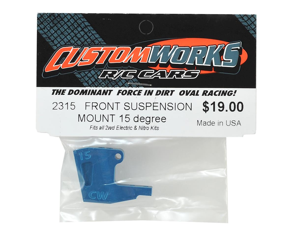 Custom Works 15 Degree Aluminum Front Suspension Mount