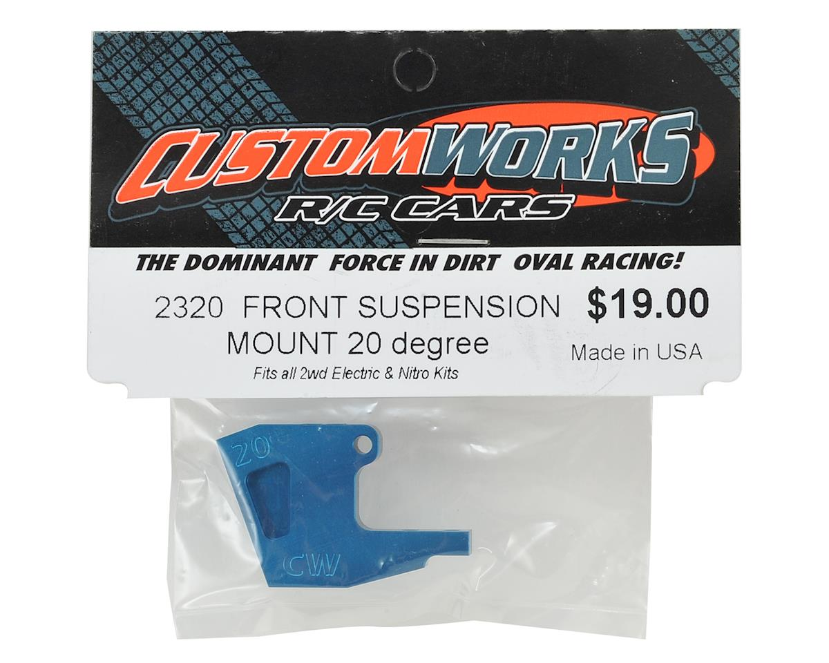 Custom Works 20 Degree Aluminum Front Suspension Mount