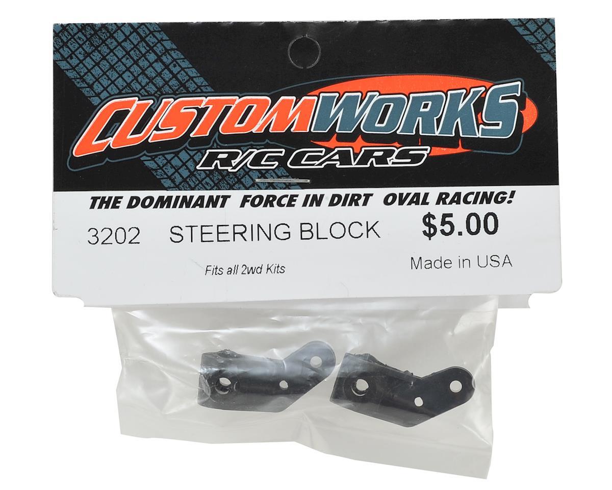 Custom Works Steering Blocks (2)