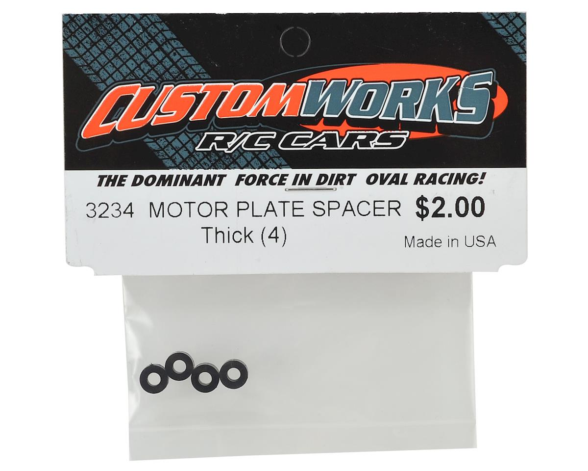 Custom Works Motor Plate Spacer (Thick)