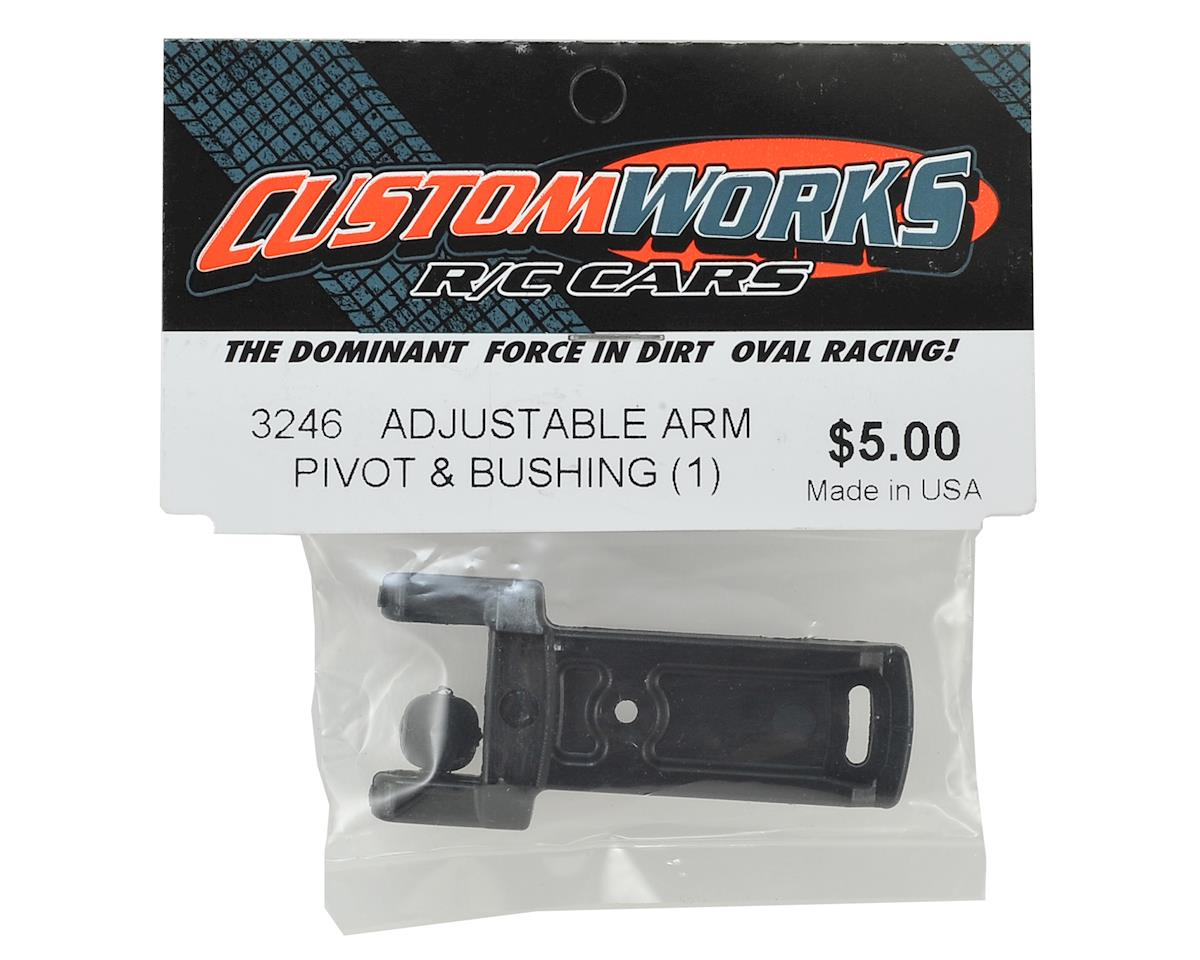 Custom Works Adjustable Arm Pivot & Bushing