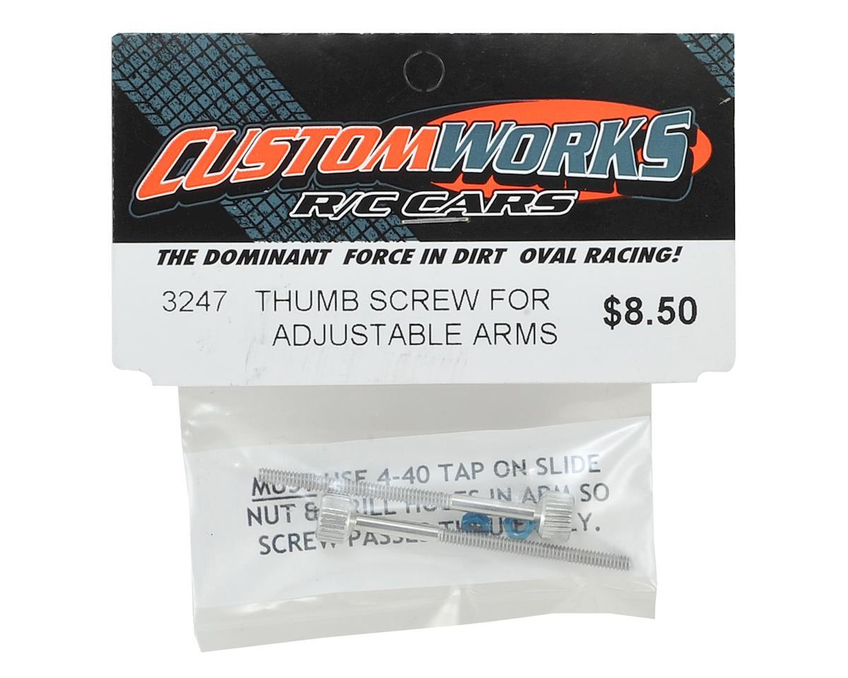 Custom Works Adjustable Arm Thumb Screw (2)