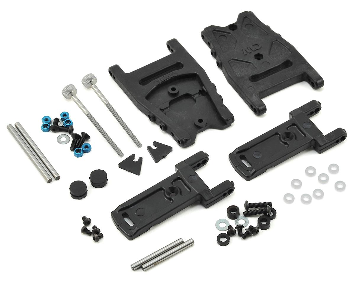 Custom Works Traxxas Slash Dirt Oval Adjustable Rear Arm Kit