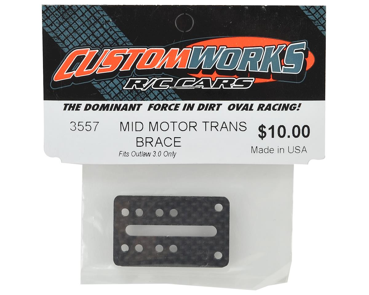 Custom Works Outlaw 3.0 Mid Motor Transmission Brace