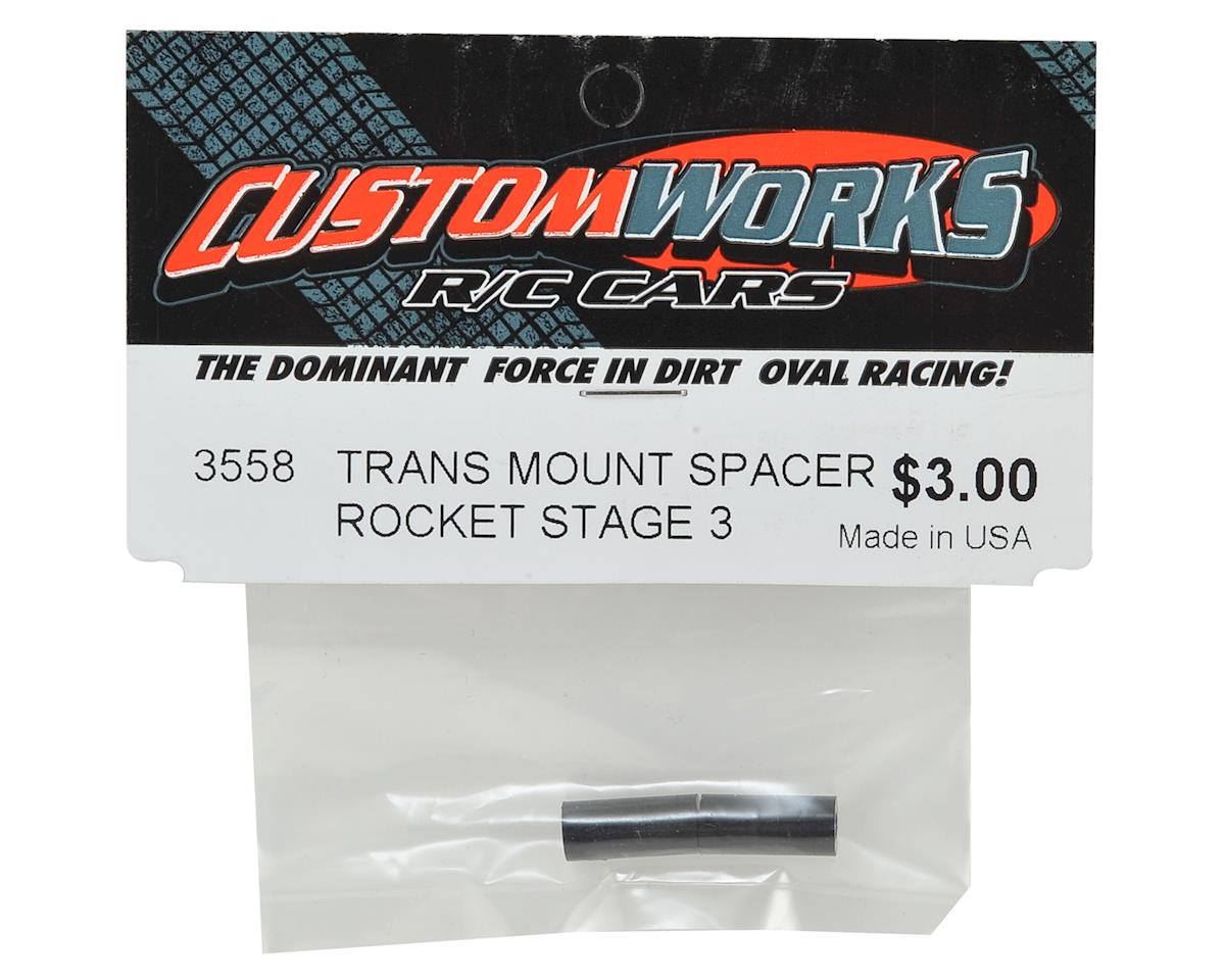 Custom Works Rocket Stage 3 Transmission Brace Spacer