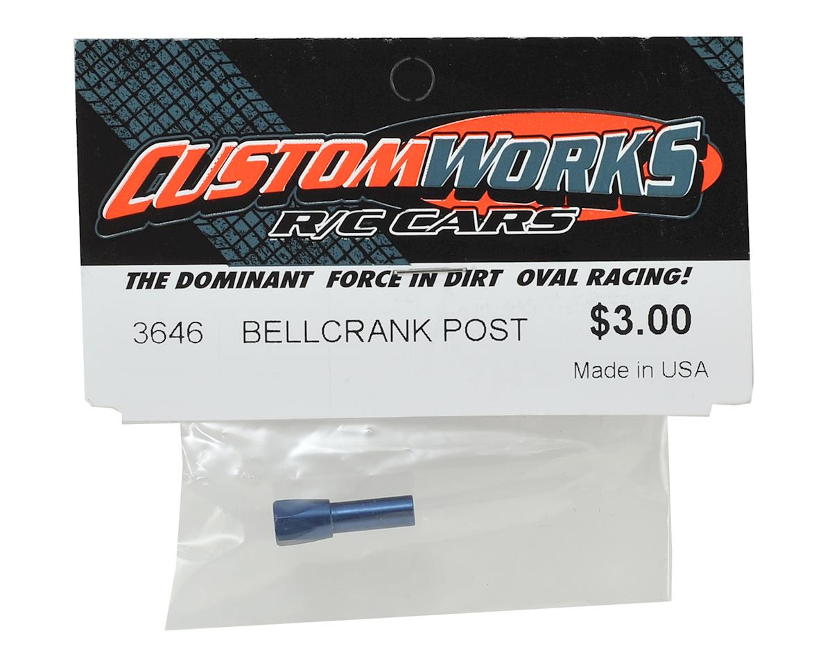 Custom Works Steering Bellcrank Post