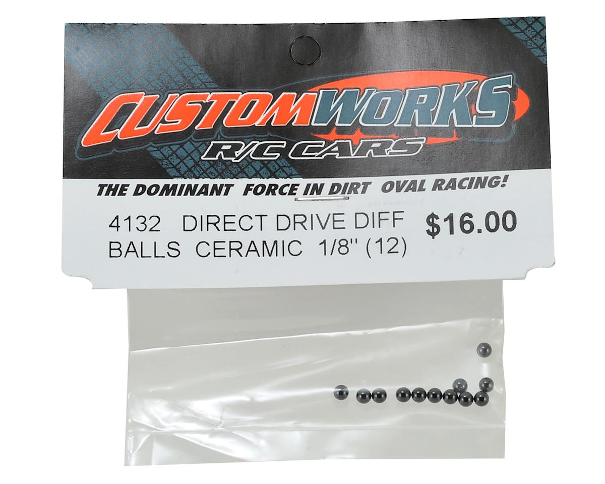 "Custom Works Direct Drive Ceramic 1/8"" Differential Balls (12)"