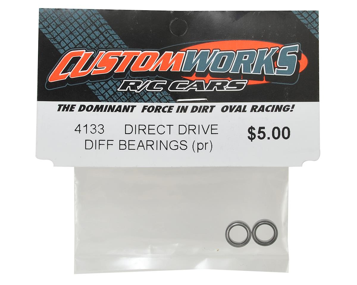 "Custom Works Direct Drive 1/4 x 3/8"" Unflanged Differential Bearings (2)"