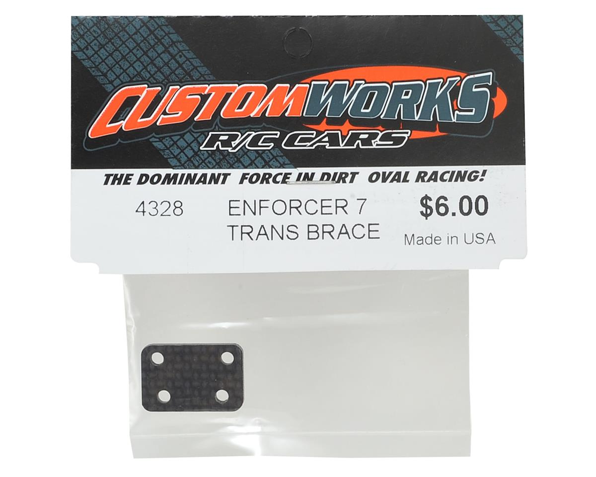 Custom Works Enforcer 7 Transmission Brace