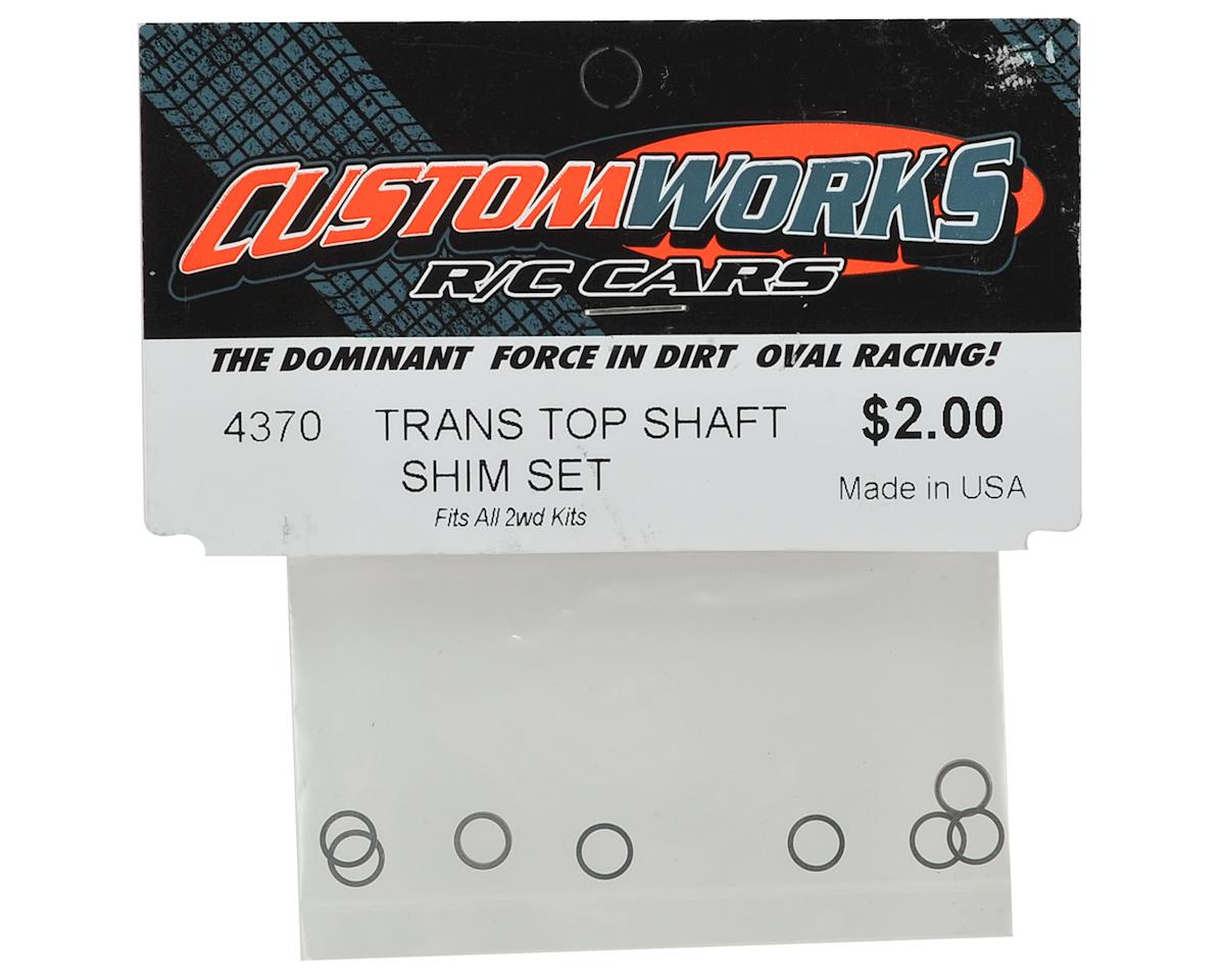 Custom Works Top Shaft Shim Set