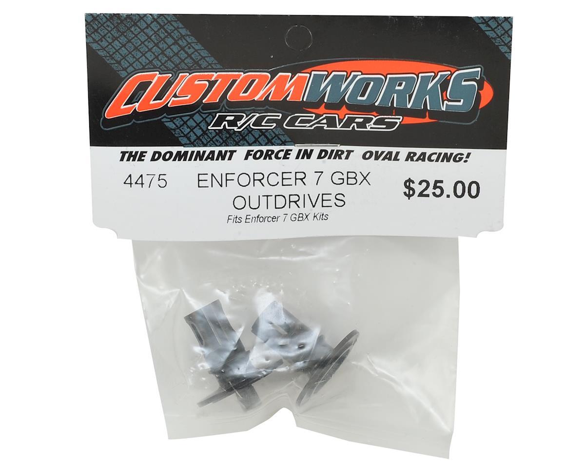 Custom Works Enforcer 7 Gear Box Outdrives